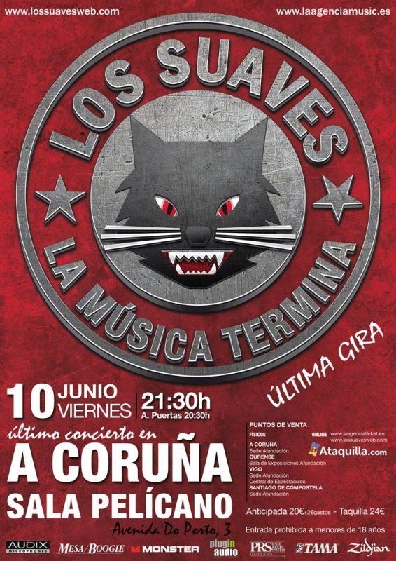 Los Suaves Ltimo Concierto En A Coru A La Agencia Music